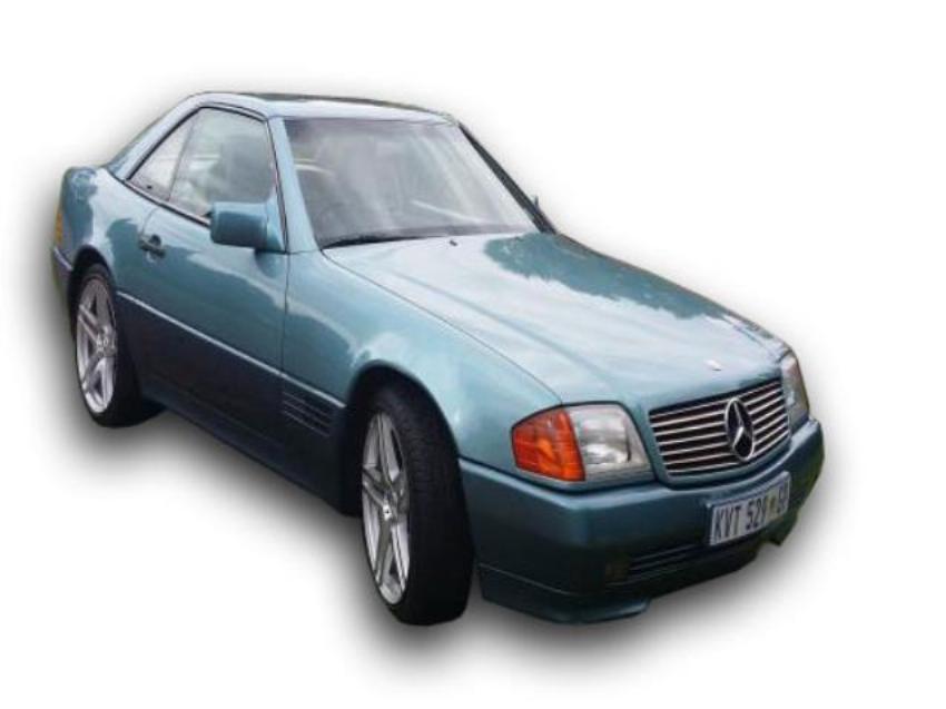1991 MERCEDES BENZ SL500