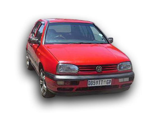 Used 1997 1997 Vw Golf 3 Gsx 1 8 On Auction Pv1020260