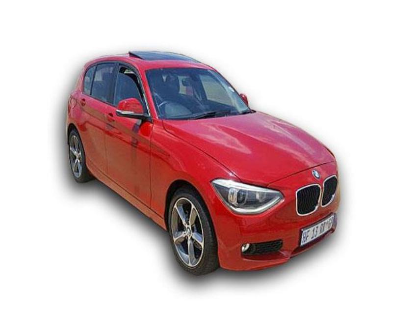 2014 1 SERIES  Red BMW 116i F20