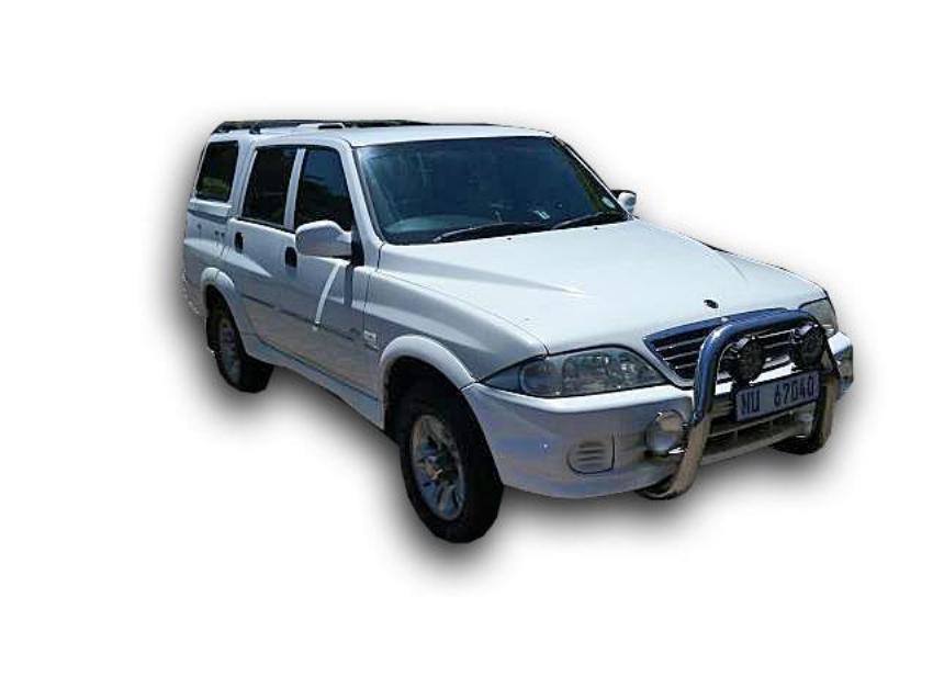 2005 SSANGYONG  MUSSO SPORT 4X4 290