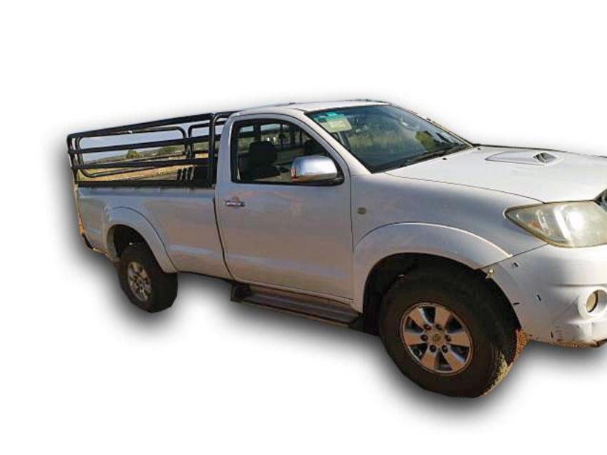 2010 2010 TOYOTA HILUX 3.0 D-4D SINGLE CAB