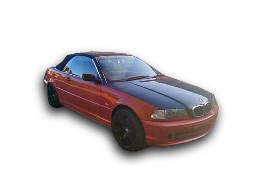 2000 3 SERIES  2000 BMW 330CI CONVERTIBLE CODE 3