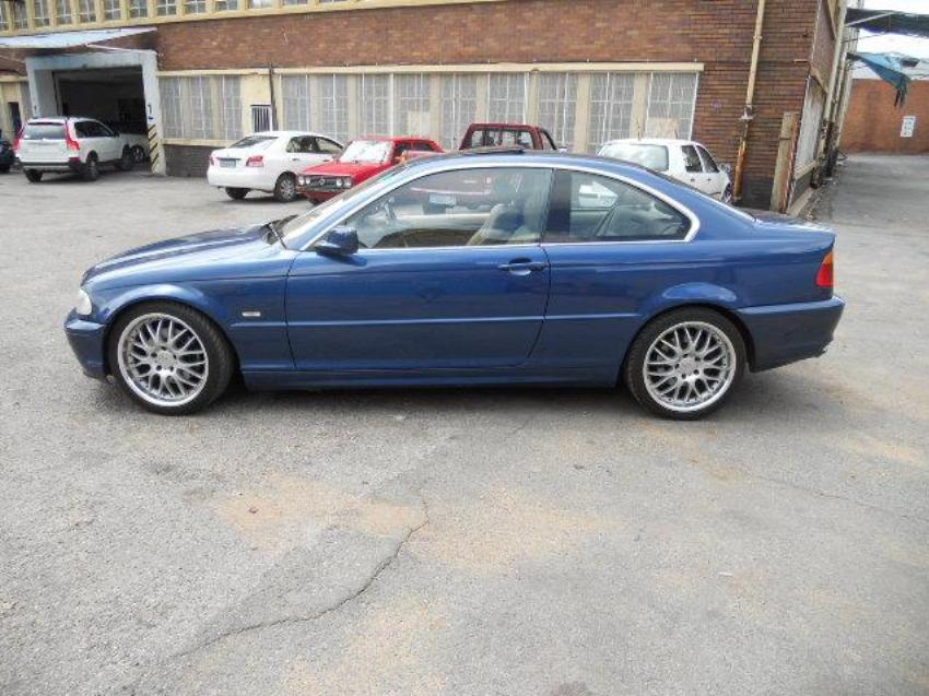 2002 Bmw 3 Series 325ci Coupe A T E46