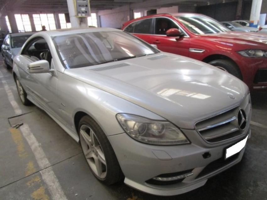 2011 MERCEDES BENZ CL  500 4.6 BI T