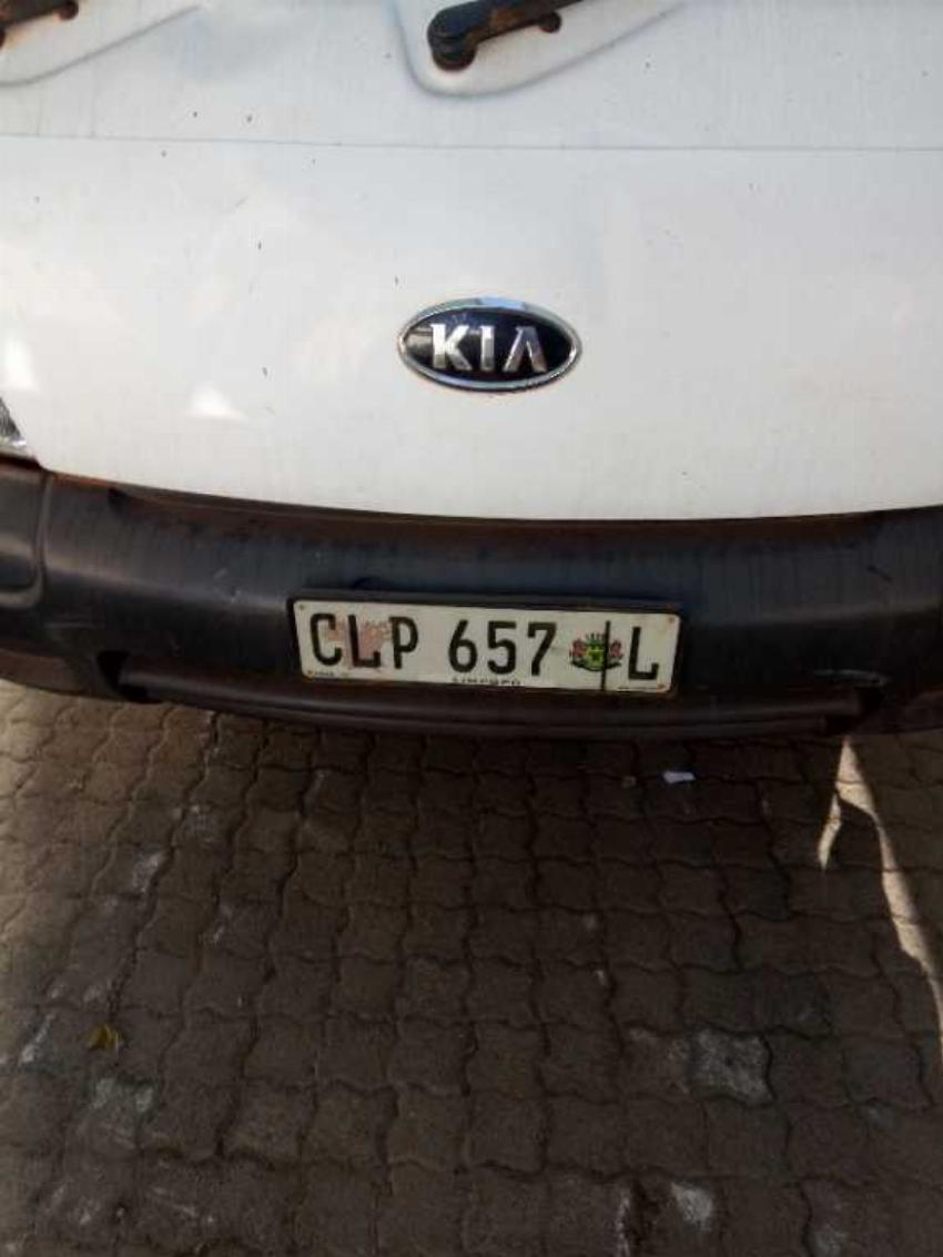 2012 KIA K2700  2.7 4X2